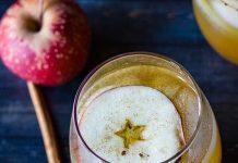 Kratom infused apple cider tea
